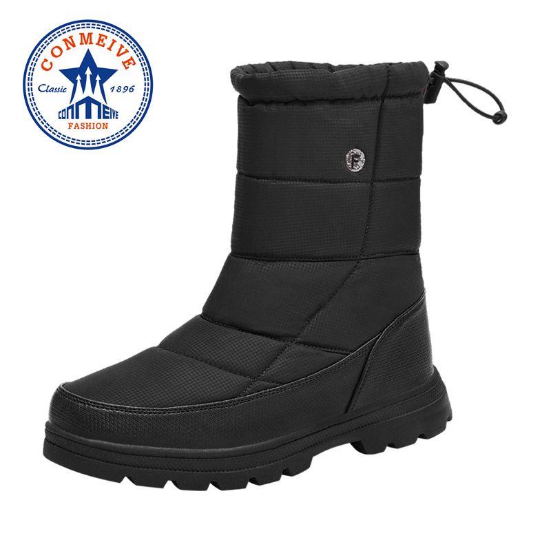 2020 Yeni Kış Aşıklar Yürüyüş Ayakkabı Açık Su geçirmez Kaymaz Kıtıklanması Trekking Ayakkabı Artı Kadife Tut Sıcak Yürüyüş Botları