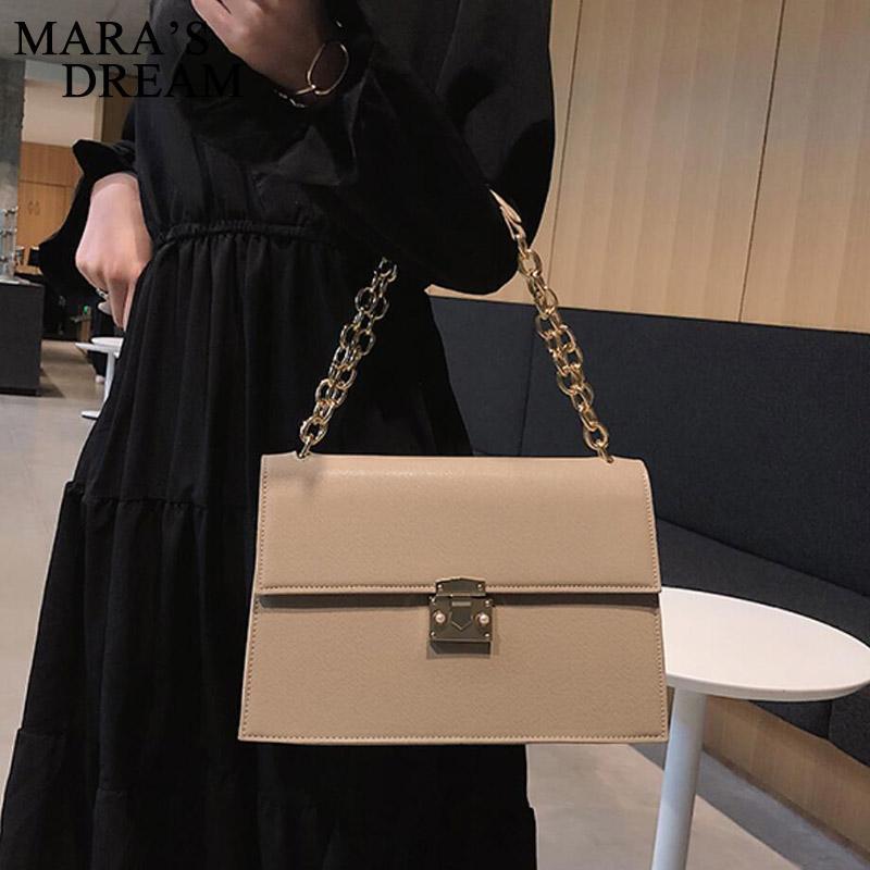 Bolsa 2020 Moda de Nova alta qualidade PU de couro das mulheres bolsa Grande sacola Bloqueio Cadeia Ombro Messenger Bags