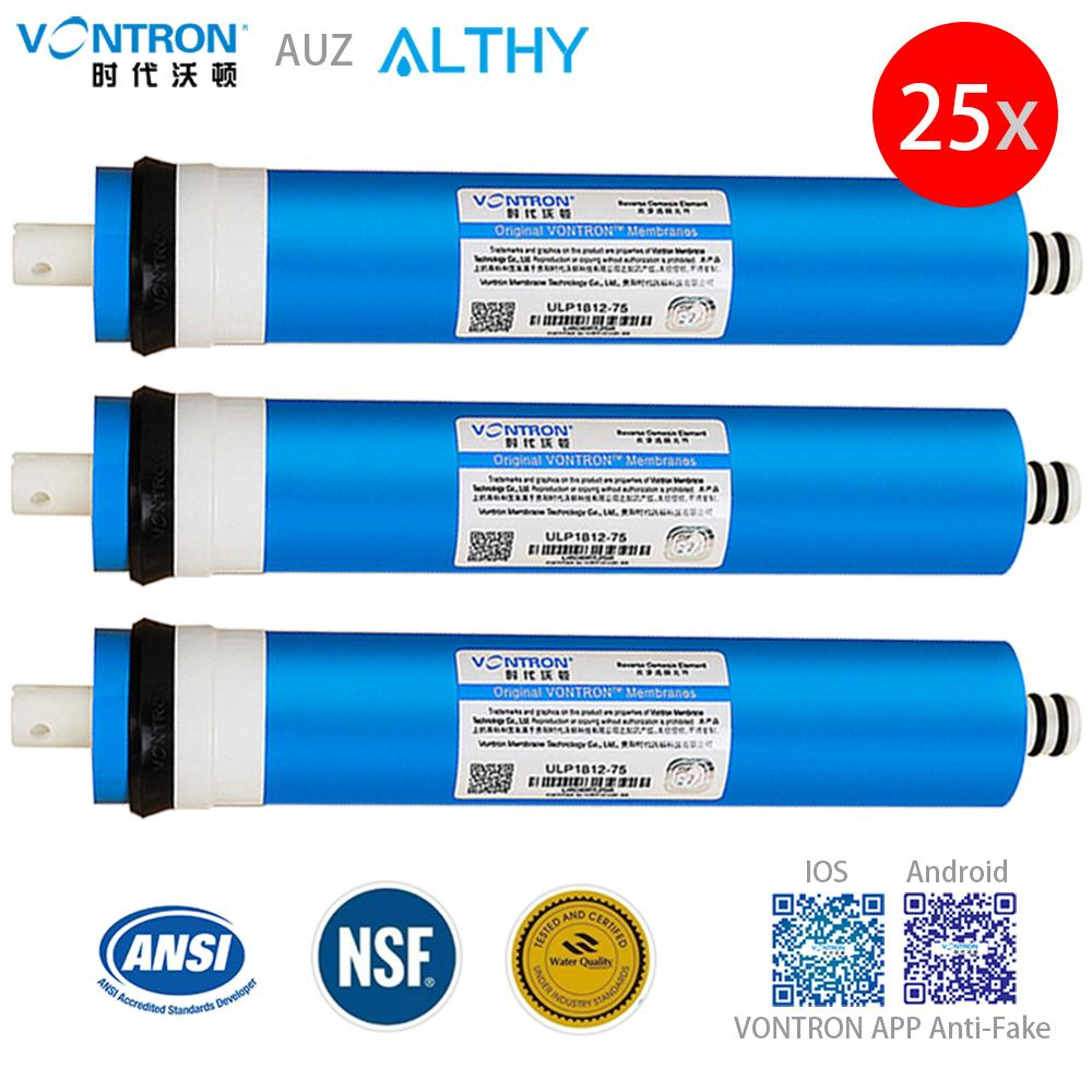 toptan VONTRON Osmoz RO Membran 50GPD - 75GPD Yedek Su Filtre Sistemi Arıtma Arıtma Ev T200810 İçme
