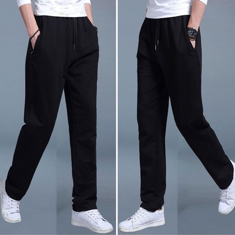 2020 hombres del verano del basculador de los pantalones de la manera de Hip Hop Harem estiramiento Joggers Runner algodón suelta pantalones ocasionales para M-3XL Tamaño