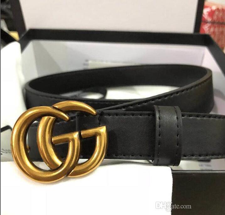 Cintura Gold Pearl Larghezza fibbia in pelle delle donne degli uomini di lusso di qualità Alta Moda di: 2.0 3.4 3.8CM di trasporto + White Box A199