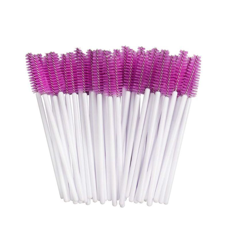500Pcs Eyelash Extension Disposable Eyebrow Brush Mascara Wand Applicator Spoolers Eye Lashes Cosmetic Brushes Set