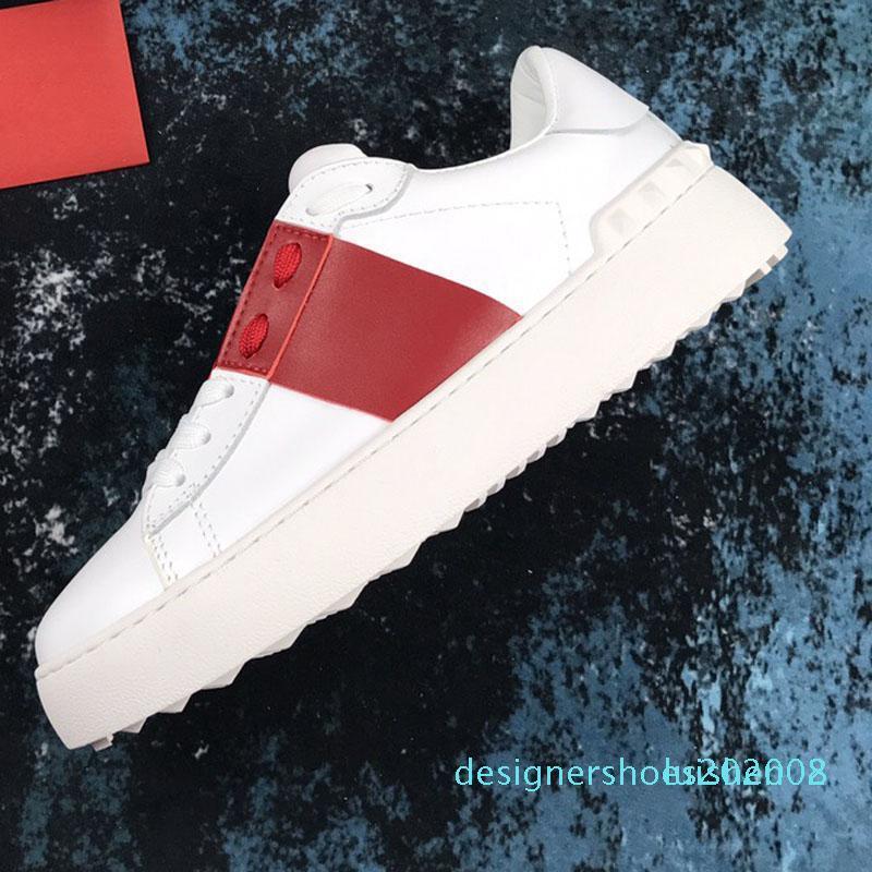 2020 Горячих новая Дисконтная обувь Chaussures моды Роскошных женская Белый Черные обуви Кроссовки Мужчины Женщина Повседневная d08