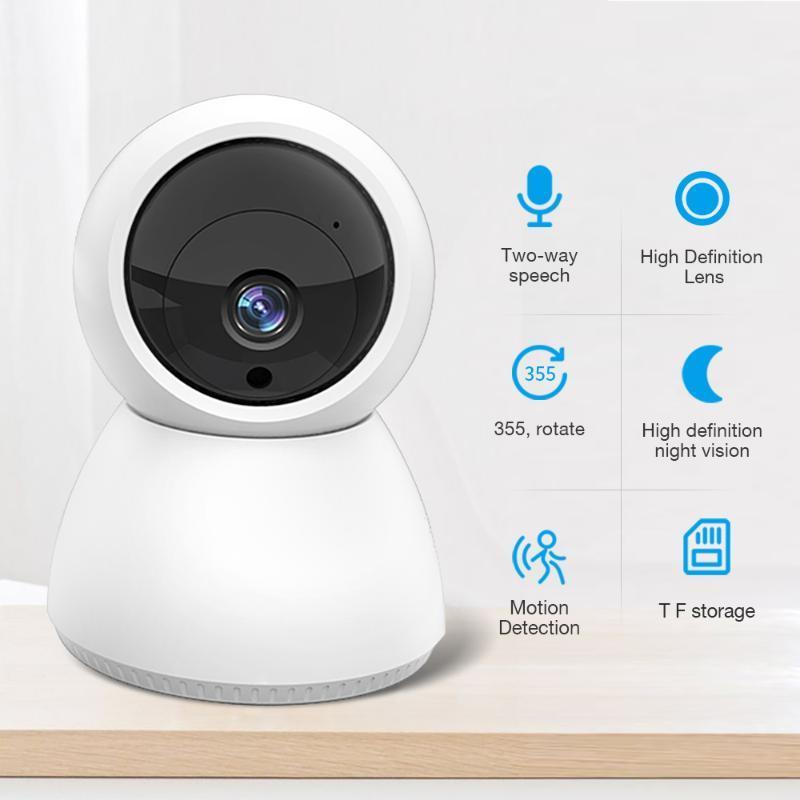 FEISDA 1080P беспроводной HD WiFi камера PTZ домашней безопасности камеры видеонаблюдения аудиозапись ребенка видеонаблюдения монитор мини крытый