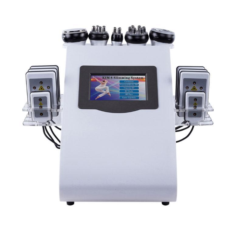 6 개에서 1 초음파 지방 흡입 수술 공동 현상 기계 무선 주파수 체중 감소를 체중을 줄이는 Lipo 레이저 아름다움 기계 살롱 장비