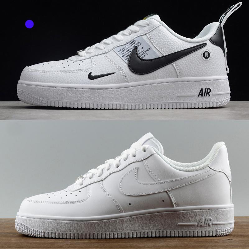 Zapatillas de deporte superiores de diseño para mujeres hombres ce 1 bajo una alta chaussures 07 AF1 formadores de moda de las fuerzas del patín calza el envío libre