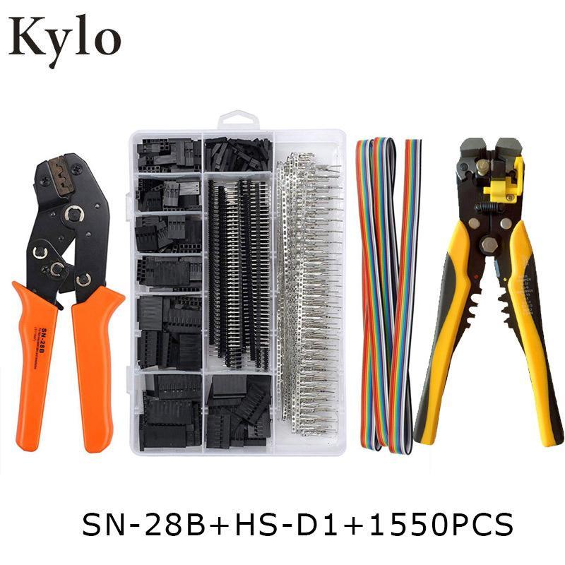 terminales conjunto crimpadora herramienta de mano SN-28B de sujeción de herramientas kit Pelacables herramienta de crimpado borne multifunción pelacables Y200321