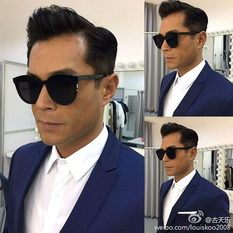 2019 Nova celebridade fashion Internet mesmo sol coreana sol gm óculos óculos de sol rosto redondo para homens e mulheres Nlrnx