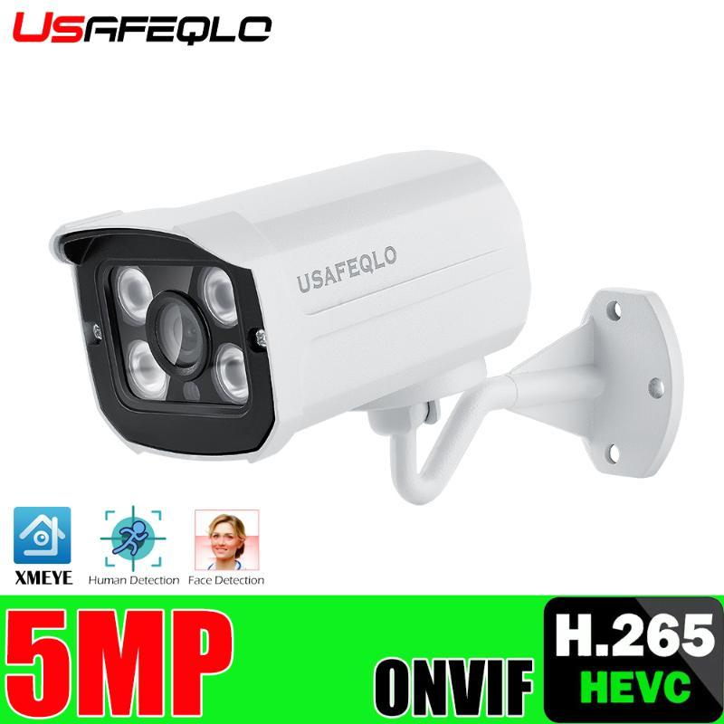 3MP 5MP POE IP-камера H.265 1080P IP камеры видеонаблюдения ONVIF для POE NVR системы Outdoor Home Security Surveillance IR Cut Metal
