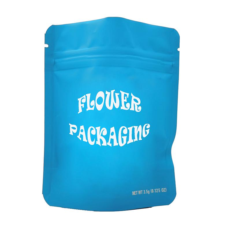 Edibles Cookies Candy Bag Customized E-Zigarette-Paket leerer Reißverschluss Einzelhandel kinderfeste Materie-Finish-Taschen-Kunststoff-benutzerdefinierte Logo-Verpackung