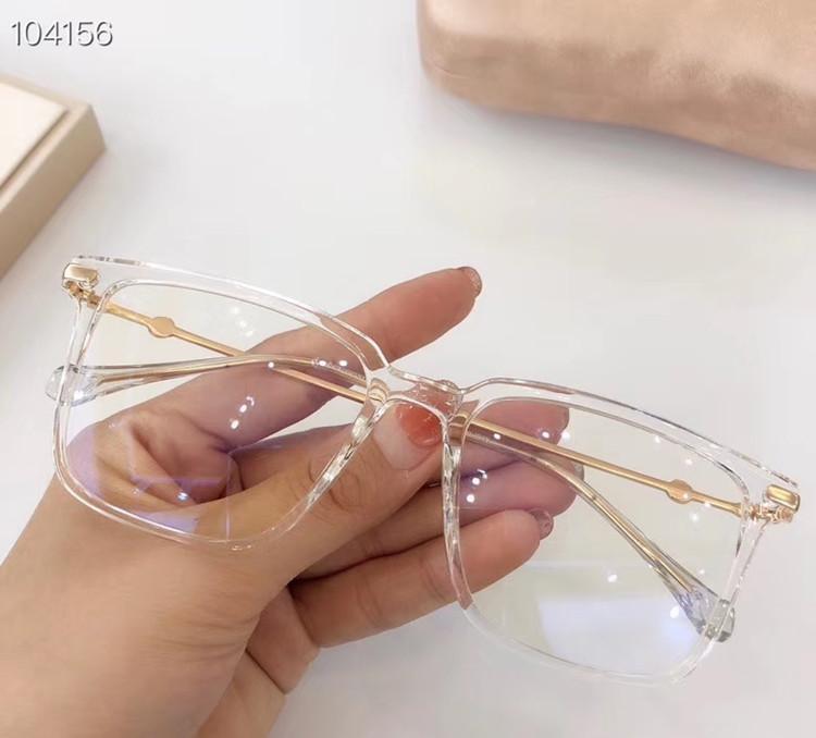 Newarrival GG5170S Bigrim النظارات الإطار الجودة مقاومة للأشعة فوق البنفسجية الأزرق نظارات للنساء خفيفة للغاية اللوح الخشبي + معدنية للحصول على وصفة طبية نظارات القضية Fullset
