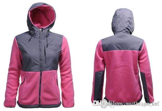 무료 배송 Womens Fleece 후드 재킷 겨울 야외 스포츠 따뜻한 양털 운동복 겉옷 남자 아이들 Softshell 자켓