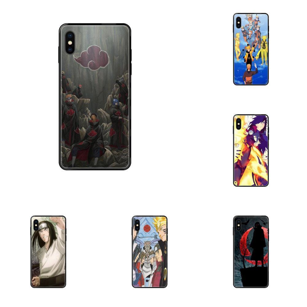 Apple iPhone Naruto Shippuden Para X XR XS Case Cover 11 12Pro MAX 5S 5C SE 6S 7 8 Plus 2020 TPU Celular