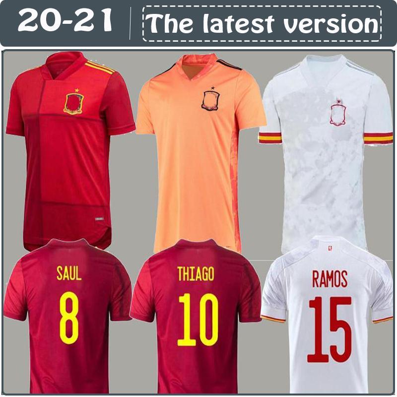 2020 İspanya futbol forması Camiseta España PACO Morata A.INIESTA PİKE 2010 Avrupa Kupası Alcacer SERGIO ALBA erkek çocuk kadın fo 1994 İspanya Retro