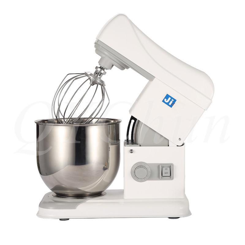 Ticari ev restoran fonksiyonlu taze süt makinesi yumurta çırpıcı ve yoğurma mikseri 7 litre tablosu