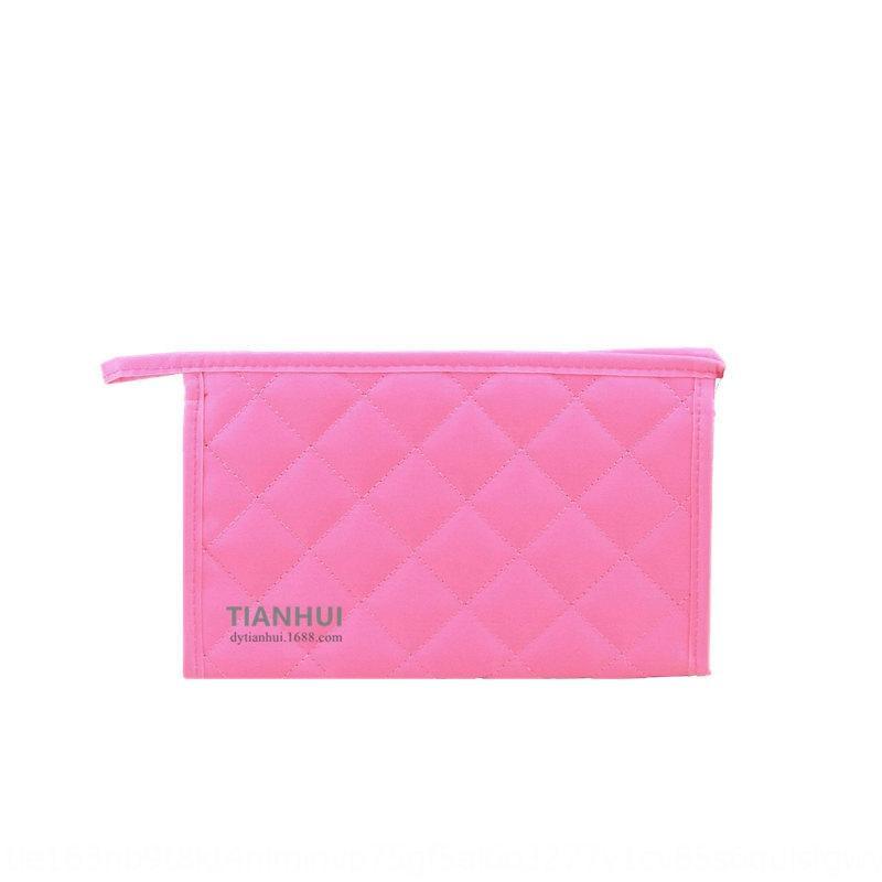 lx1RX Nuova cosmetici stoccaggio di nylon cosmetico portatile sacchetto di diamante di immagazzinaggio casuale delle donne di trucco piccolo JpHKt bag piazza