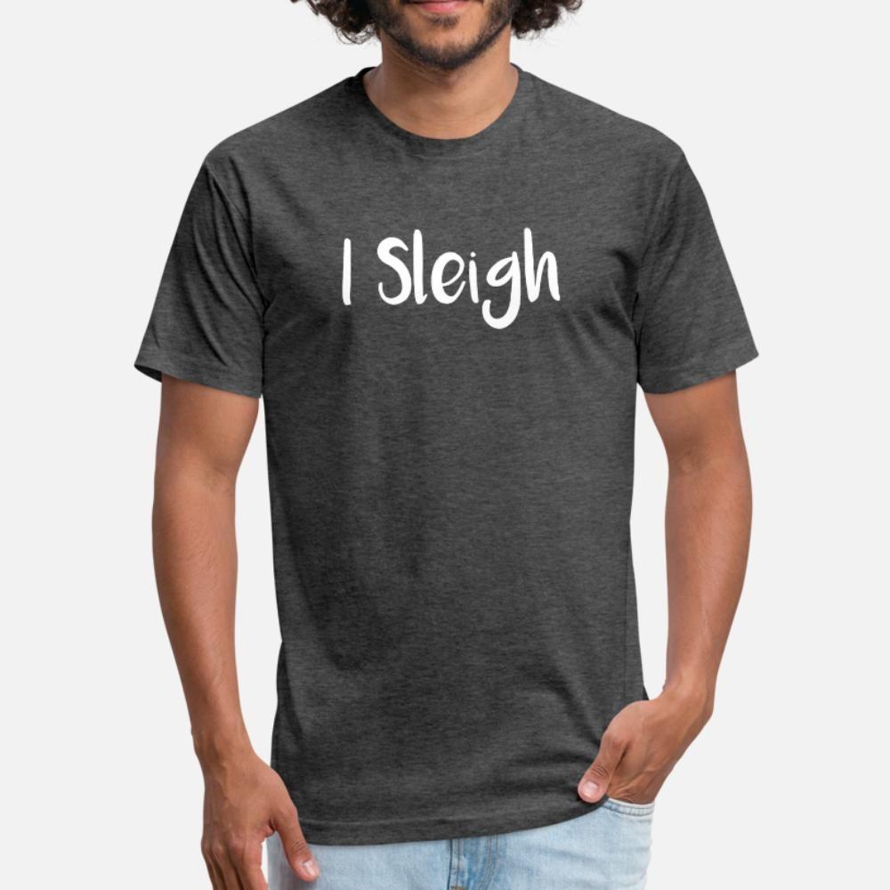 Noël, je Sleigh de Santa Sleigh t Les hommes shirt personnalisé t-shirt Euro Taille S-3XL Outfit Intéressant authentique chemise fraîche style d'été