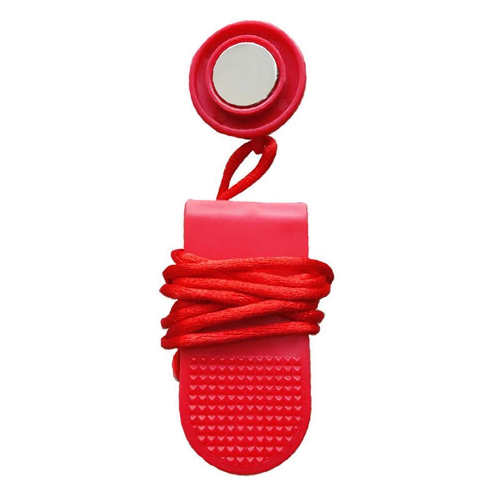 Aptitud Equipo de Protección interruptor de bloqueo de la rueda de ardilla llave de seguridad con el imán de ABS
