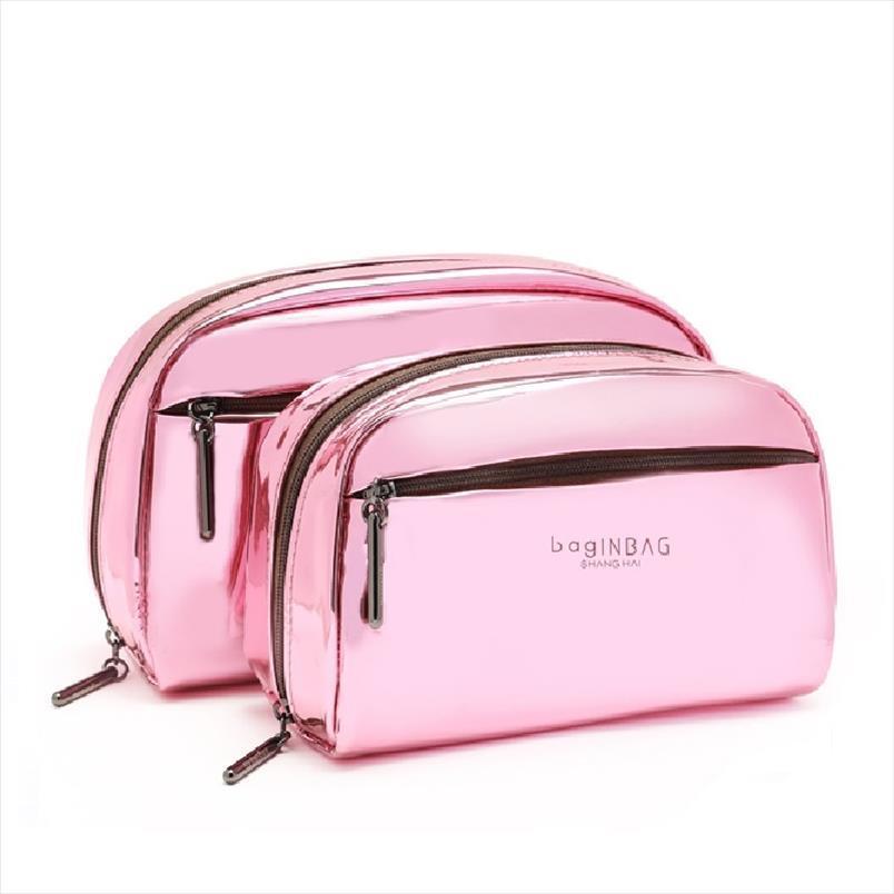 Tasche Set tragbare funktionelle kosmetische Taschen Aufbewahrungstasche Drop Kosmetikkapazität Großer Make-up-Versand Kleine Multi-Taschen Addwn