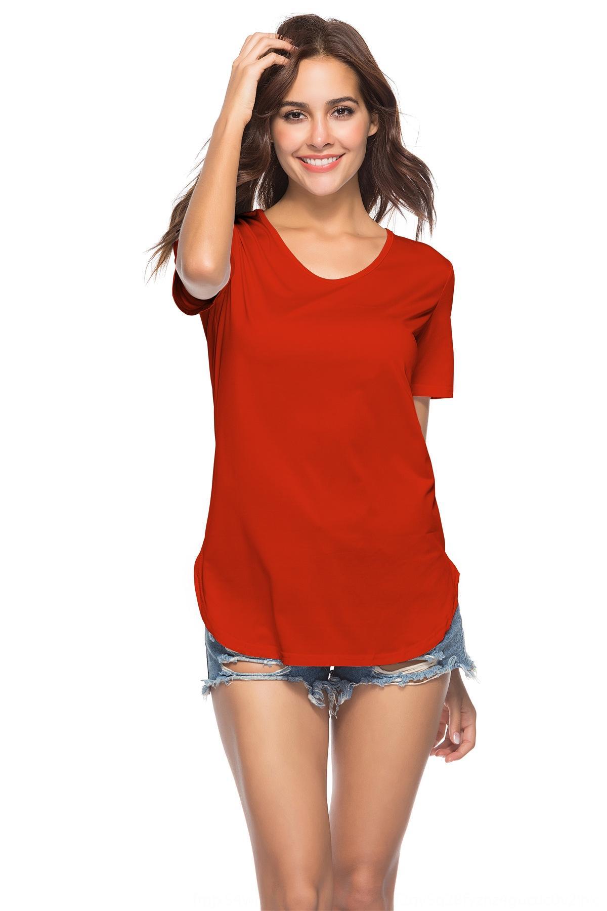 h4eIf новые летние одежды нерегулярное большого размера сплошного цвета сексуальное 8 цвет 5 размера YD2159 платье платье