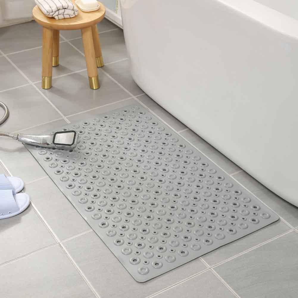 WC nicht Beleg Bodenablauf Holes Hotel Bath Mat Heim Saugnäpfe Anti Mold