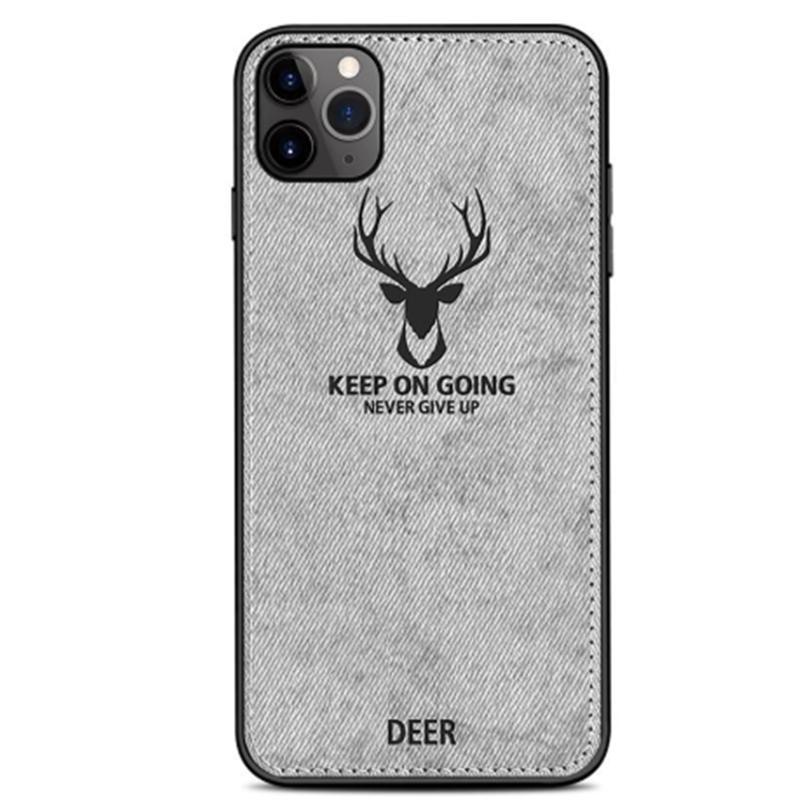 Cloths Pattern PC TPU Case For iPhone 12 11 Pro Max Samsung Note 20 10 9 8 Pro S20 S10 PLUS M31S A51 Clot Elk Deer Bull Bat Phone Case Cover