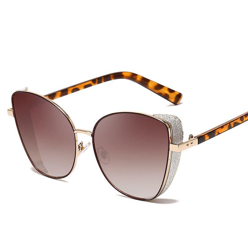 Cat Eye Sonnenbrillen für Frauen UV-Schutz UV400 Outdoor Brille Ultraleicht Comfort Rahmen