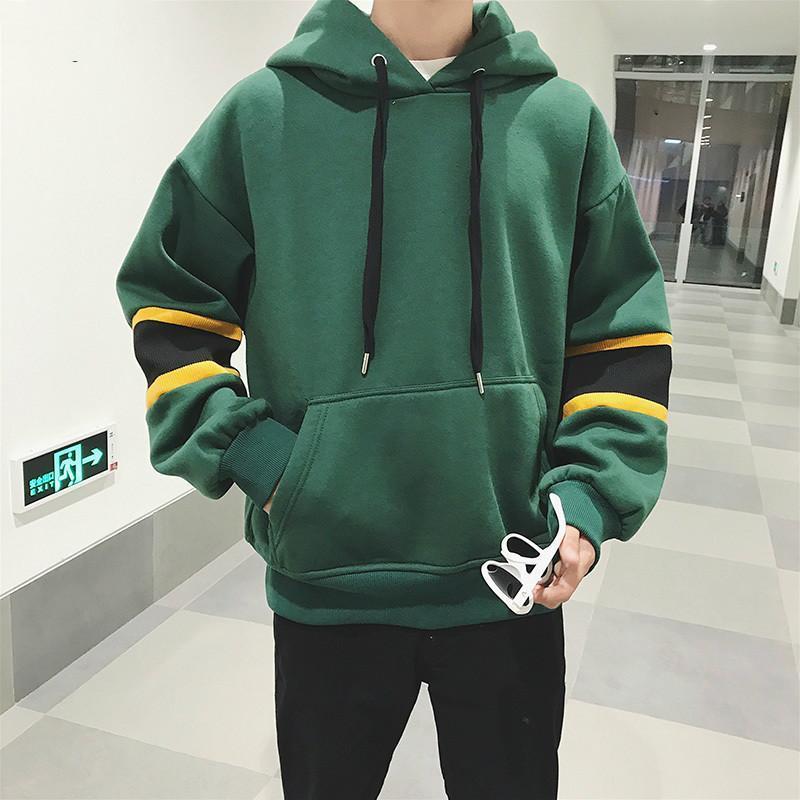 Yüksek Kaliteli Harajuku Kazak Man Hoodie Koreli Erkekler Giyim Kazak Eşofman Sokak Stili chaqueta Hombre Crewneck 5WY131