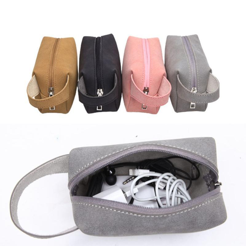 Travel Storage Portable Digital Accessories Gadget Devices Organizer USB Cable Charger Storage Case Travel Cable Organizer Bag