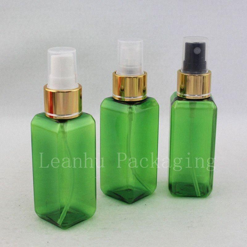 50ml X 50 verde Perfume spray Garrafa, Maquiagem Ajuste Bomba de spray Cosmetic Container perfumes e fragrâncias 63XL #
