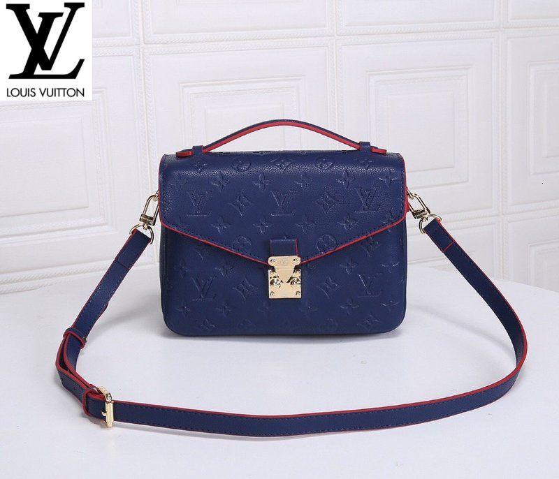 40780 Army blue Women MEN HANDBAGS ICONIC BAGS TOP HANDLES SHOULDER BAGS TOTES CROSS BODY BAG CLUTCHES EVENING