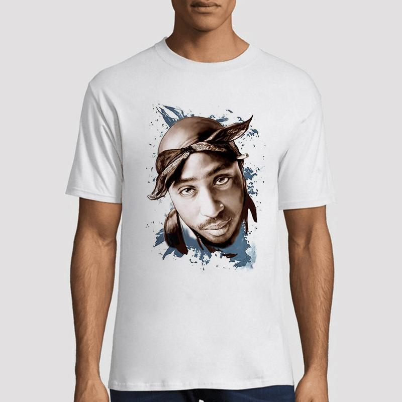 Tupac 2pac T Shirt Shakur Hip Hop Men/Women T Shirts Rapper Streetwear Harajuku Men T Shirt Funny Tshirt Summer Print Casual