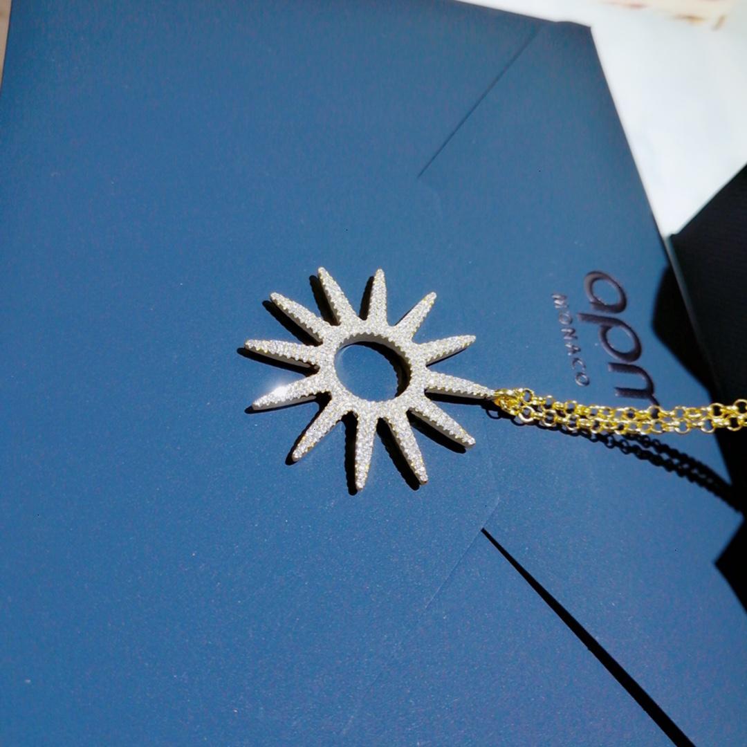 Mücevher Boyun Mizaç Moda Kolye Sun Flower Romantik Arkadaş Necklace520