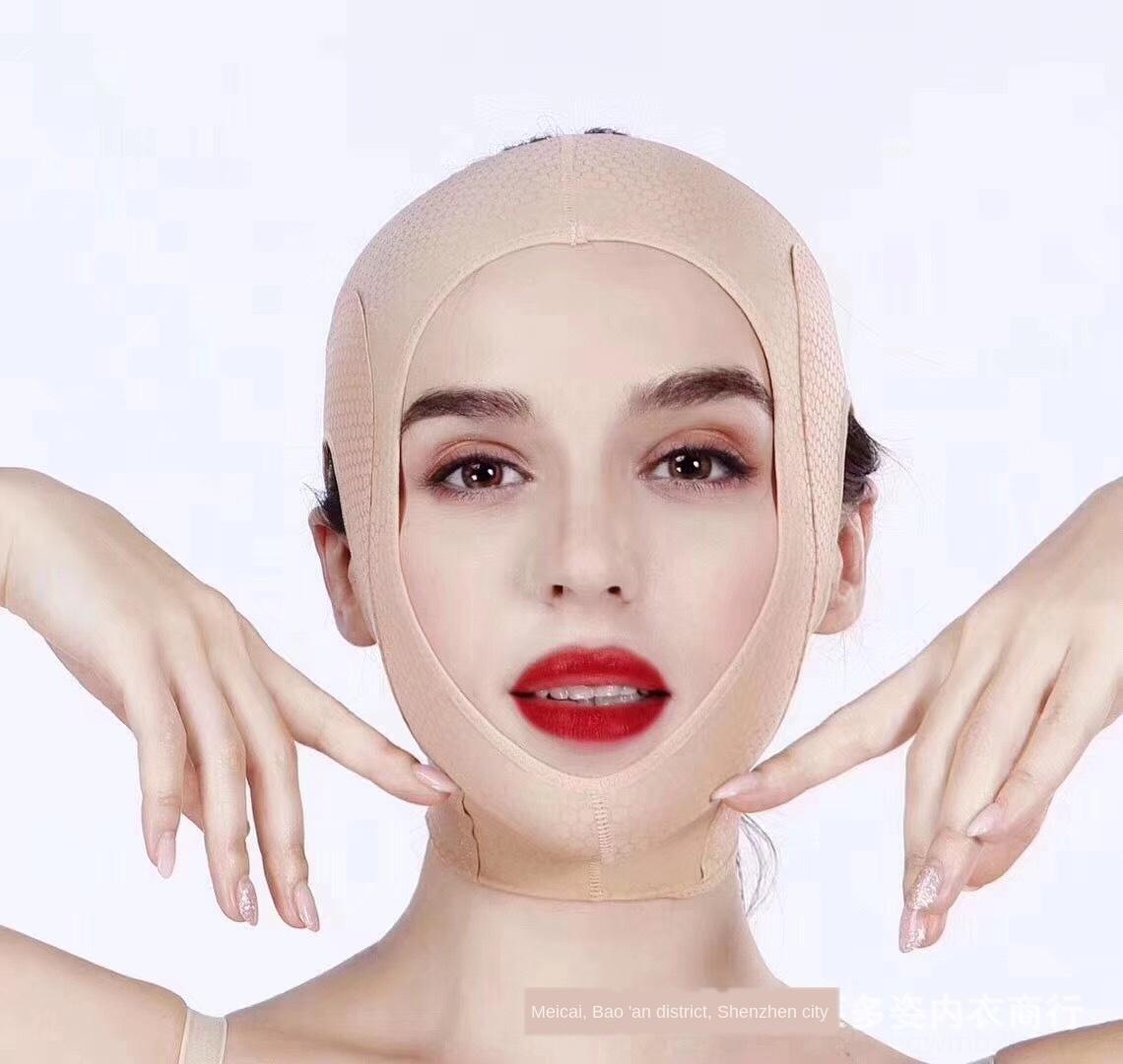 ToZ8Q nuevo salón de belleza cara de la belleza V talla de la máscara facial que adelgaza la cara artefacto conformación de elevación de tensión máscara de elevación