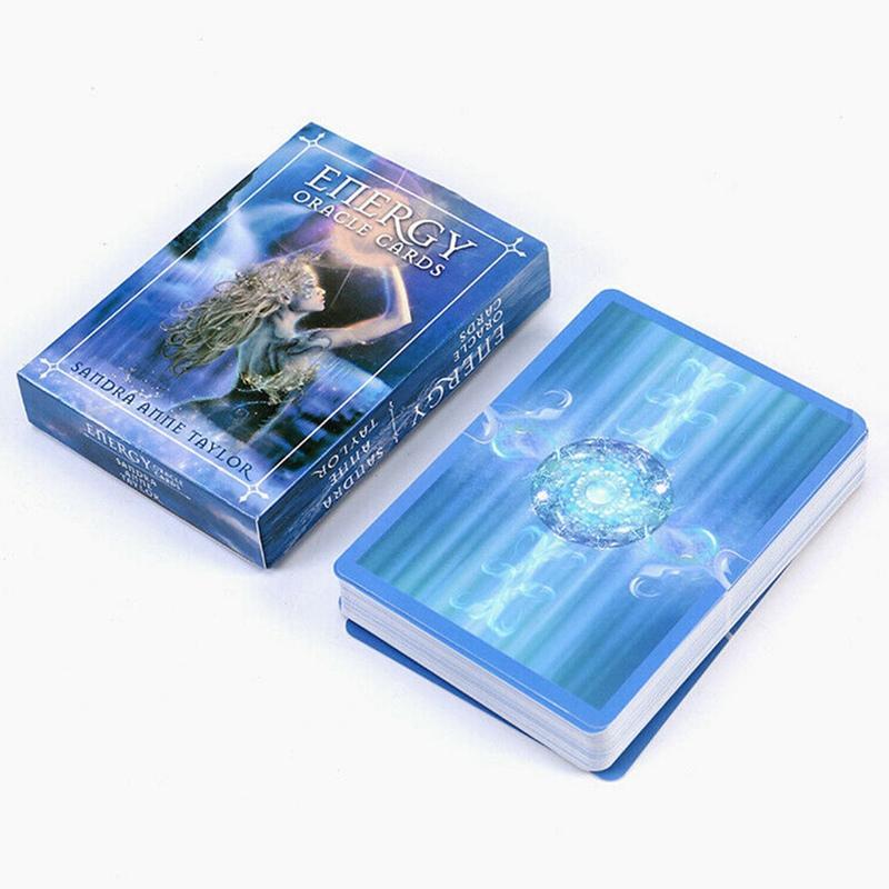 الطاقة الإنجليزية بطاقات أوراكل سطح السفينة لعب ألعاب التارو بطاقات الإرشاد التكهن مصير لعبة المجلس لعب ألعاب بطاقة للنساء
