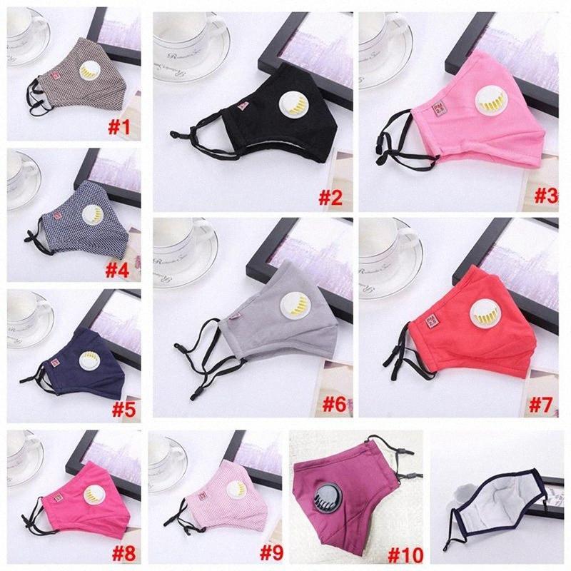 10 colori personalizzati stampato polvere maschere di cotone maschera mimetica riutilizzabili esportabile schermo solare lavabile maschera Designer Maschera 600pcs T1I1 oOc2 #