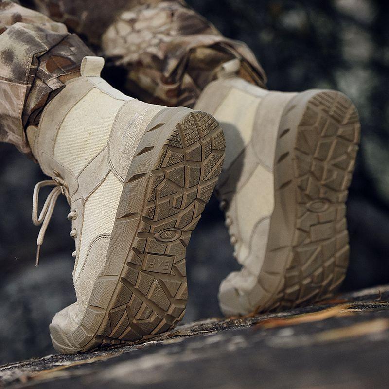 2020 chaussures hommes vêtements pour hommes slip bottes en cuir noir haut Casual pour la mode de cause à effet HighTop hommes chaussures de loisirs plat Les hommes