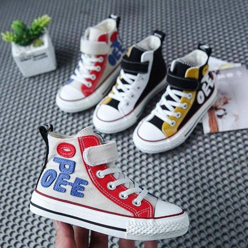 Size 25 38 Kids Shoes Canvas High Top