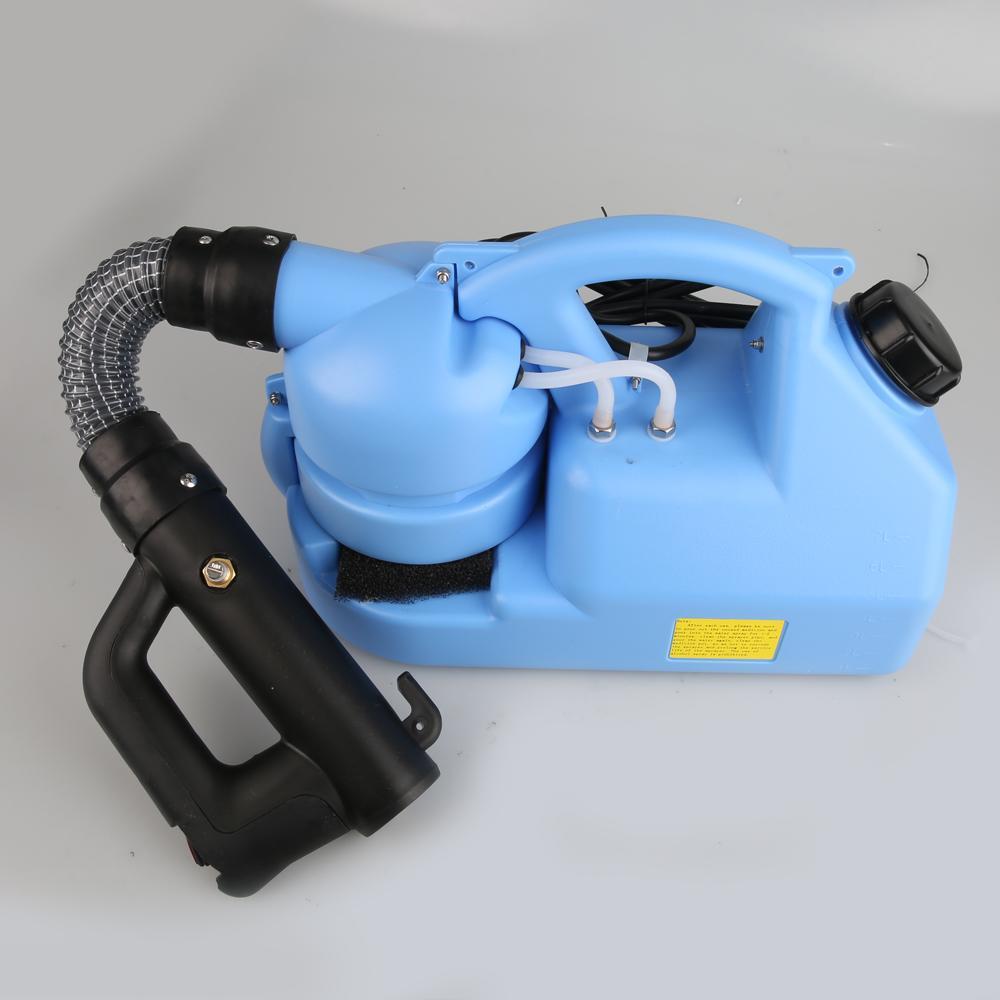 7L US / EU 110V / 220V ULV à froid brumisateur Pulvérisateur ULV brumisateur Knapsack ULV Pulvérisateur insecticide Atomiseur Pulvérisateur désinfection machine tueur de moustique
