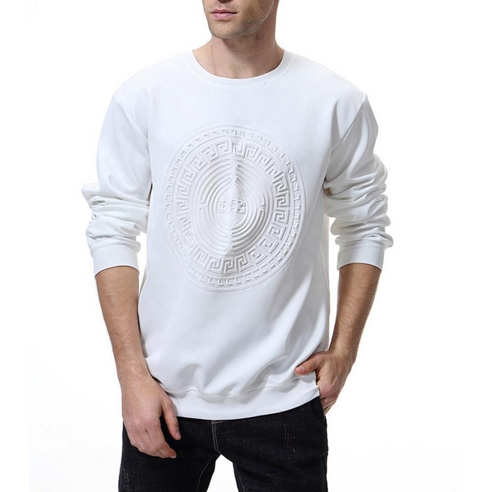 OEM hohe Qualität niedriger MOQ Neopren Herren Prägungs Sweatshirt