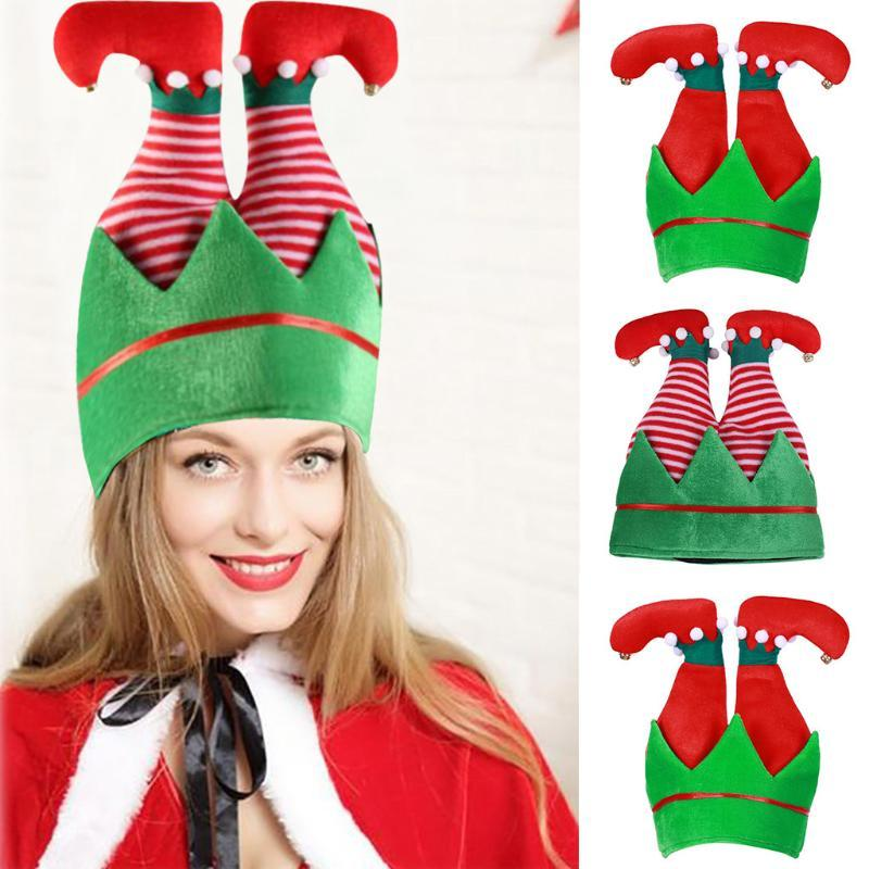 New Year Christmas Decorations For Home Merry Christmas Hat Children's Adult Hat Spring Cap Funny Party Tree Costume