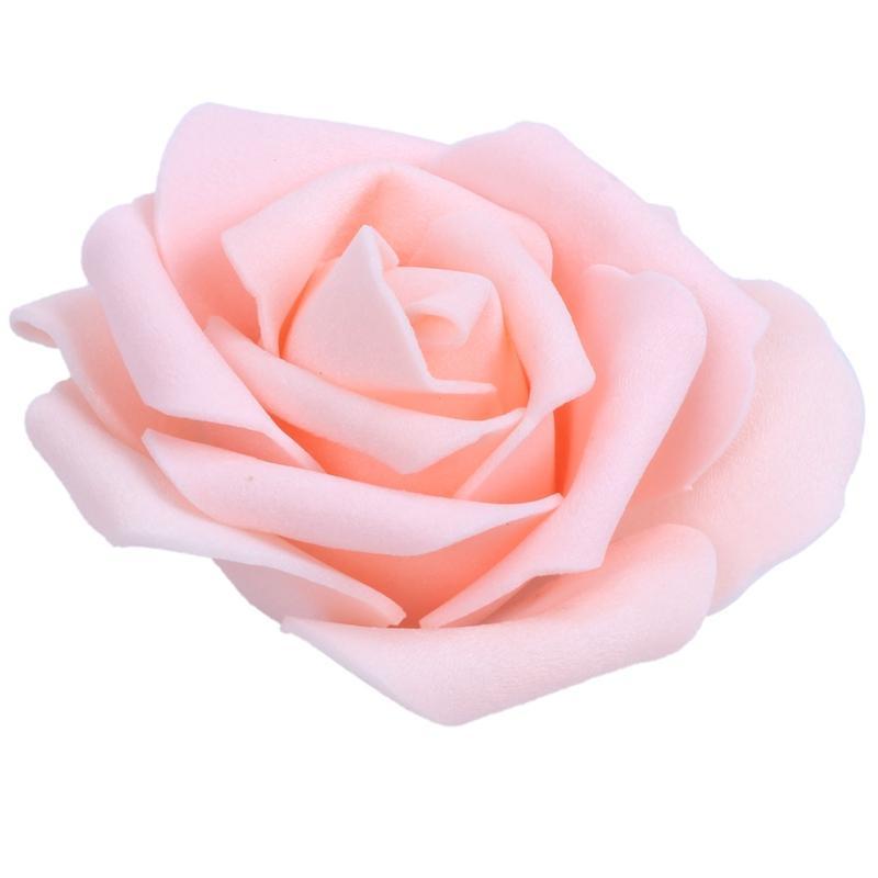 50x mousse Roses artificielles fleur de mariage mariée Bouquet Party Décor champagne bricolage