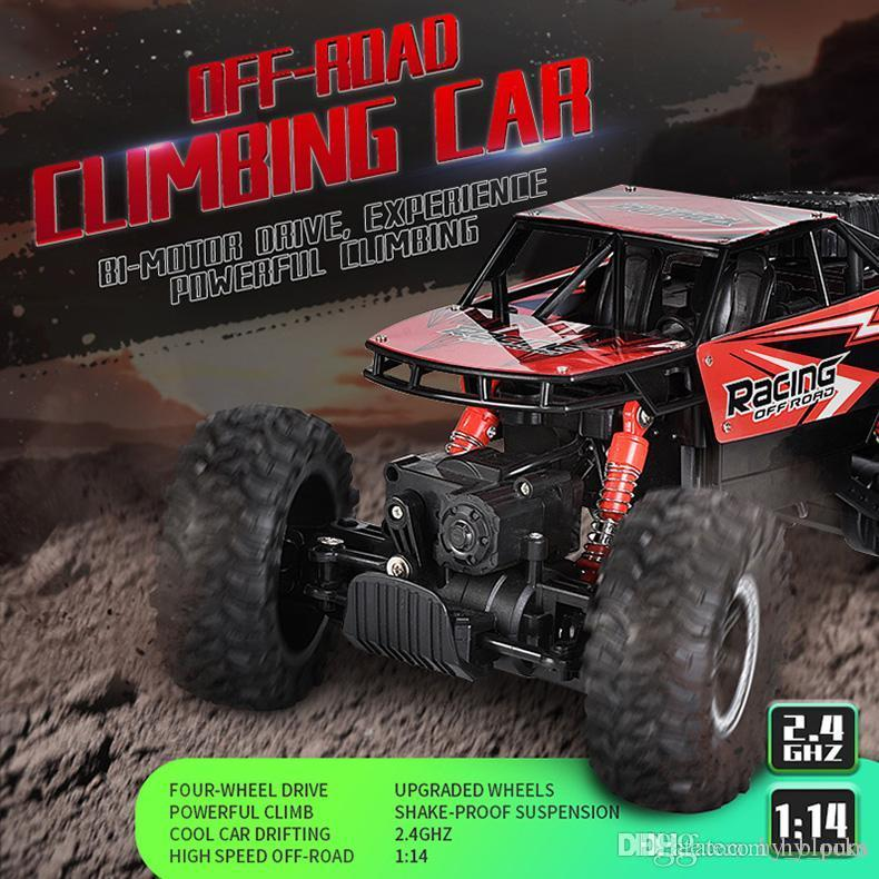 1:14 rc car model off road remote control car 2.4G high speed climbing vehicle 4WD racing truck toys for kids 09