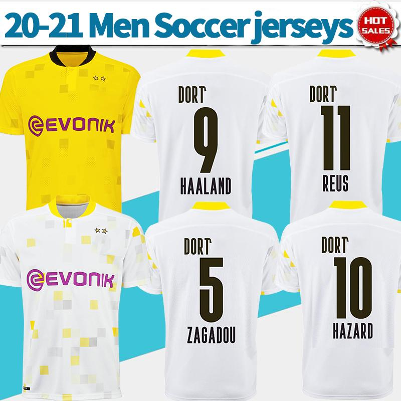 2020 Bvb Tournament Jersey 9 Haaland Soccer Jersey Home Yellow 2021 Third Cup Edition White 11 Reus 10 Hazard Football Uniforms From Xctc5320 12 23 Dhgate Com