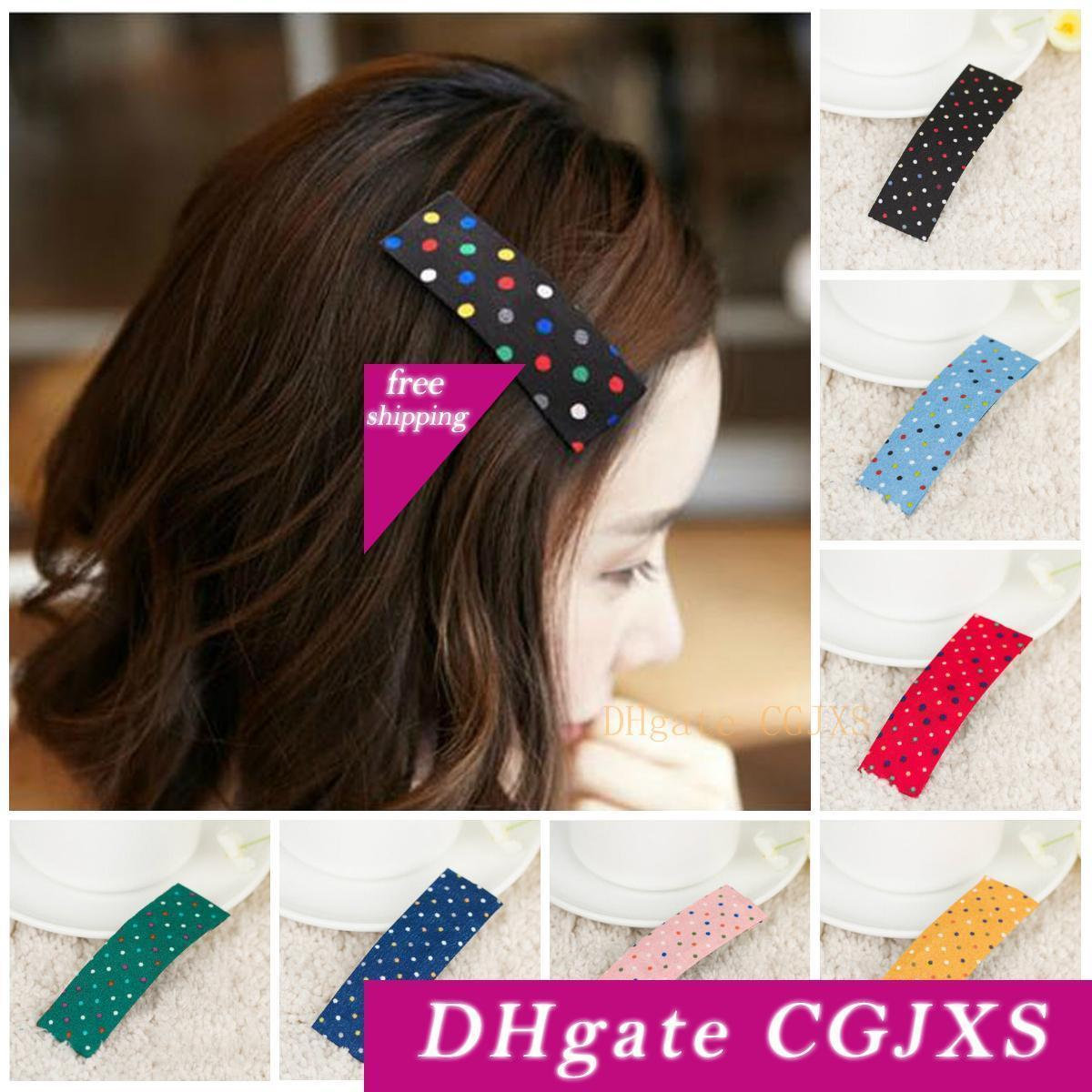 11 Hairpin Korean Sweet Little Dot Hair Clip Side Hairpin Hair  Accessories Bangs Clip Cute Headwear Hair Jewelry From Ijhdndn, $11.11   DHgate.Com