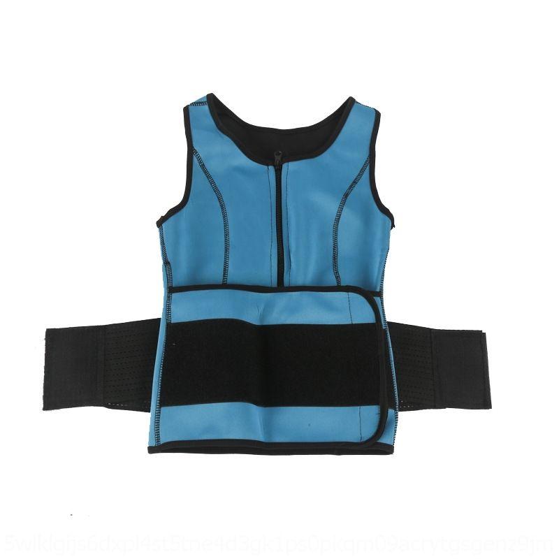 xgiIK Weste Verkauf heiße Sportverband geschlossen Bauch Gürtel Neopren der Reißverschluss der Frauen formt Weste Hot Reißverschluss Kleidung