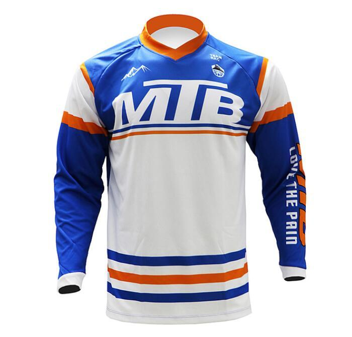 2020 new MTB men's and women's speed drop T-shirt off-road motorcycle clothing outdoor mountain bike cycling clothing can be customized