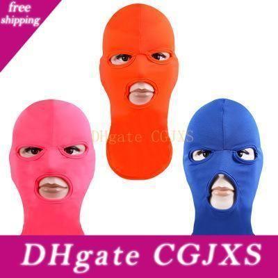 Windproof Yüz Maskeleri Bisiklet Yüz Doğa Sporları Tam Nefes İçin Erkekler Kadınlar Şeker Renkler maske toz geçirmez