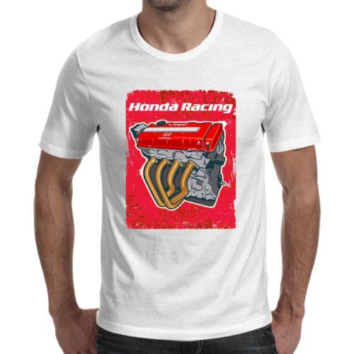 Neue Art und Weise T-Shirt Graphic Brief Hon Racing Motor AE86 Weiß T-Shirt kühles lustige O-Hals-T-Shirt