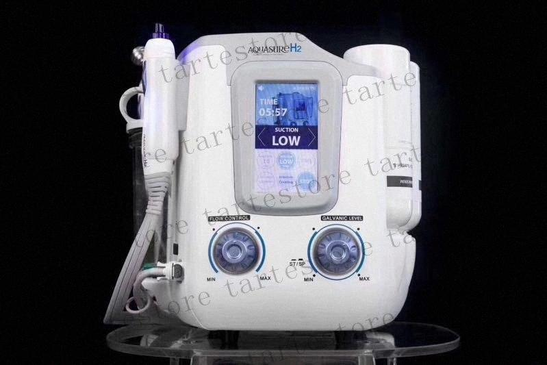 Aquasure H2 3 en 1 Hydro microdermoabrasión HydraFacial limpieza profunda BIO Microcorriente Hydro descamación de la piel facial del cuidado de la máquina 1o9H #